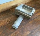 Lead Lined Wooden Rain Hopper