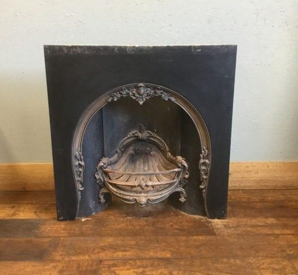 Large Cast Iron Decorative Fire Insert