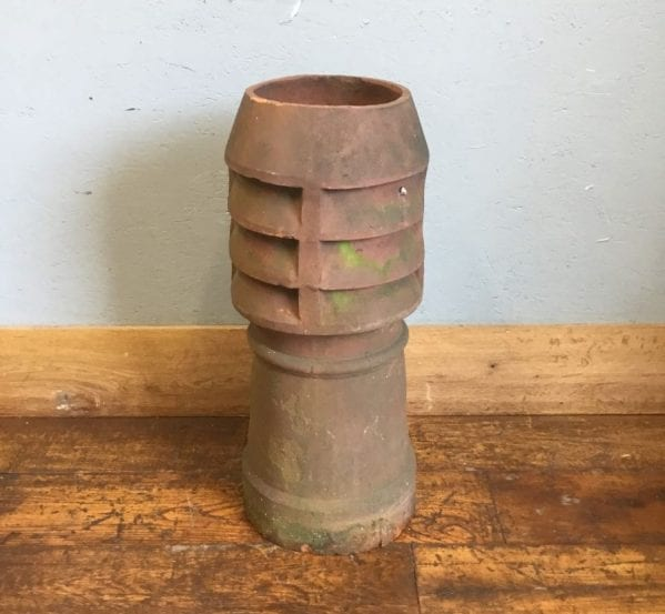 Midi Louvred Terracotta Chimney Pot