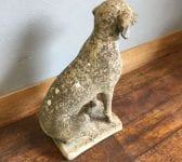 Reclaimed Hunting Dog Statue