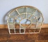 Rounded Cast Iron Window Frame