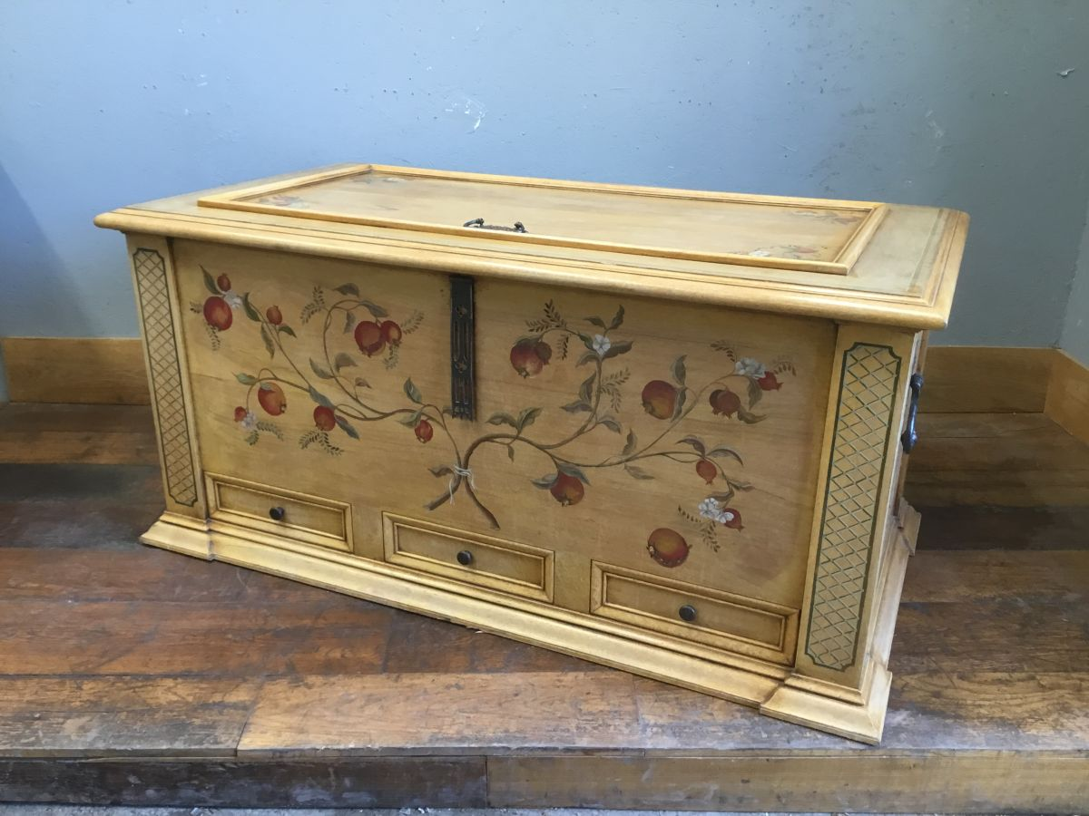 Extra Large Wooden Chest