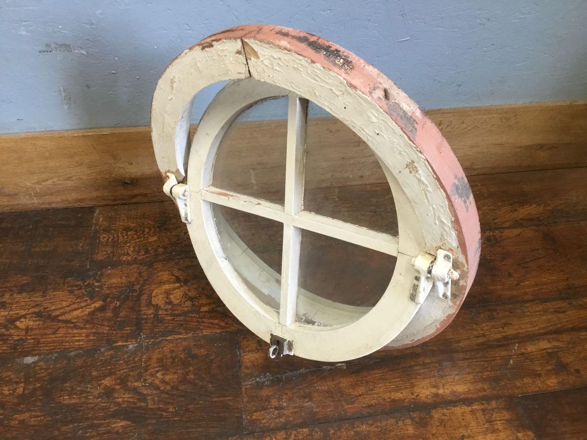 Wooden Round Pivot Window