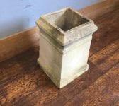 Buff Square Base Chimney Pot