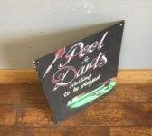 'Pool & Darts' Chalkboard Sign