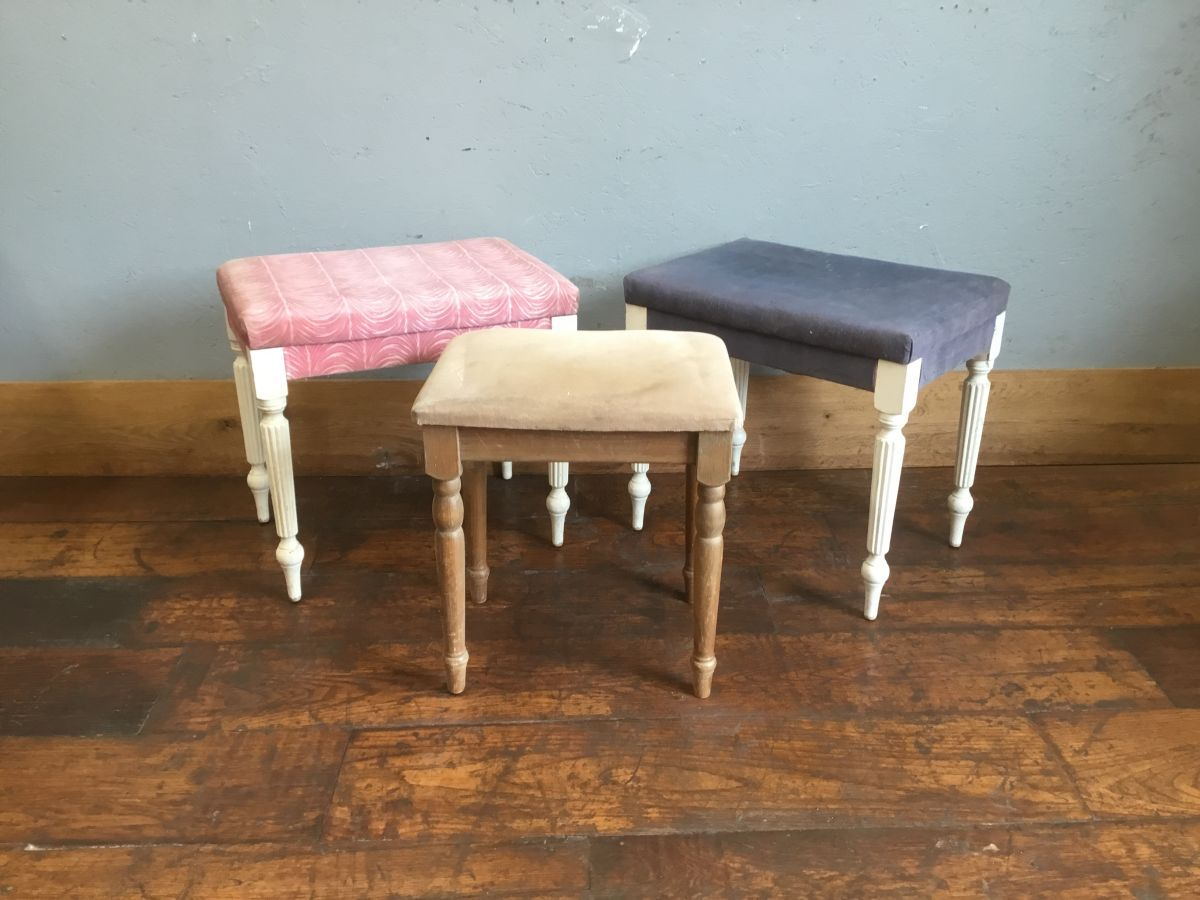 Upholstered Stool Selection