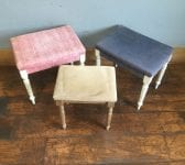 Upholstered Footstool Selection