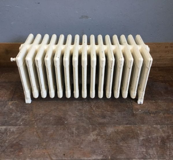 Reclaimed Painted 9 Bar Radiator