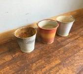 Reclaimed Galvanised Buckets