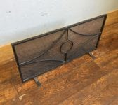 Wrought Iron Meshed Fire Guard