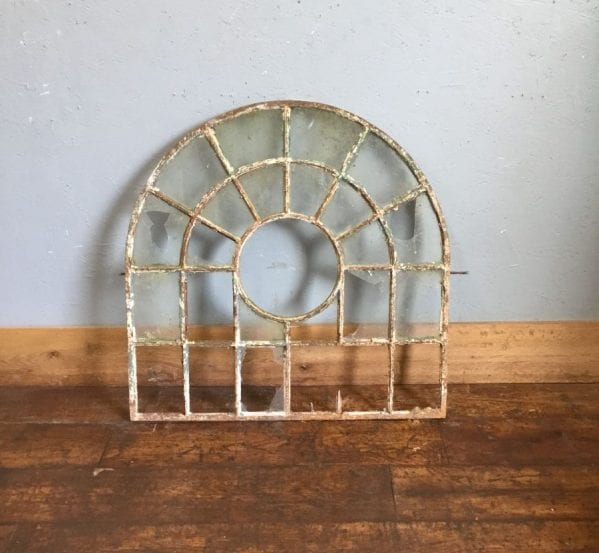 Rounded Cast Iron Window Frame