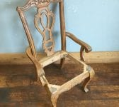 Ornate Carver Chair Frame