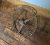 Cast Iron Wheel & Bolt