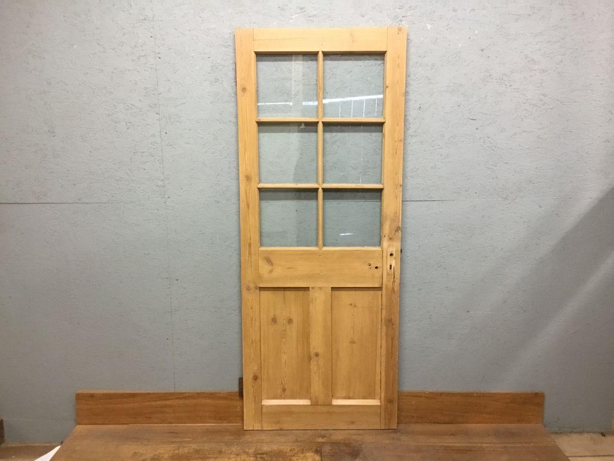 Half Glazed 6 Panel Door