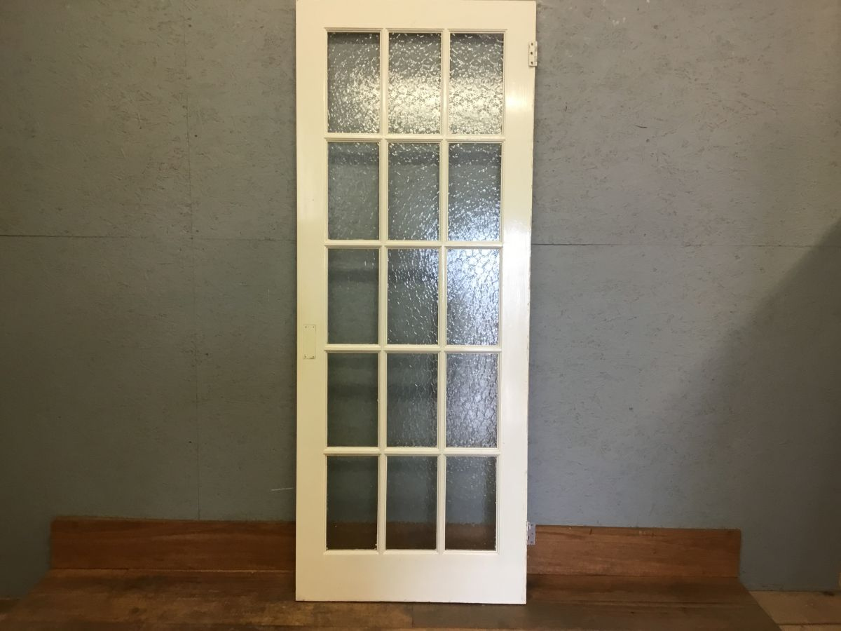 Tea Green Glazed Door