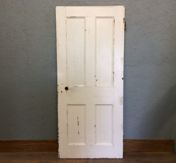 White 4 Panelled Door