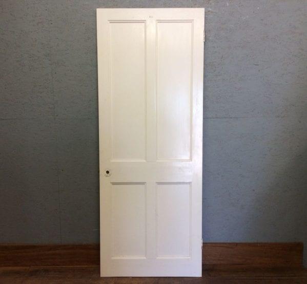 White Bright 4 Panelled Door