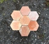 "8 3/4"" Hexagonal French Floor Tiles"