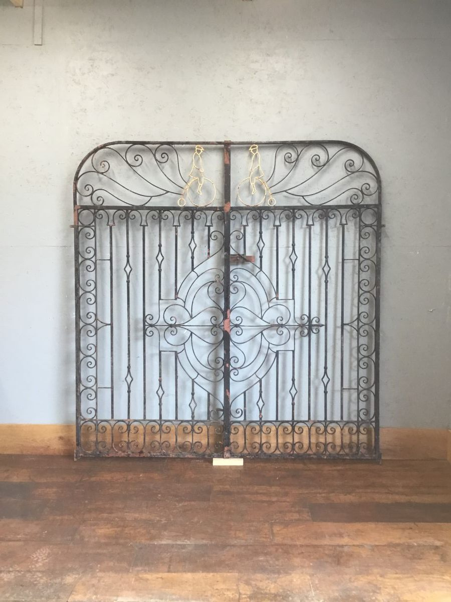 Penny-Farthing Tall Double Gates