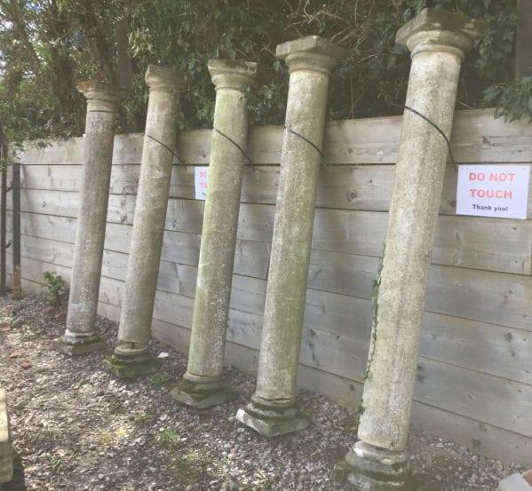 Victorian Reconstituted Stone Pillars