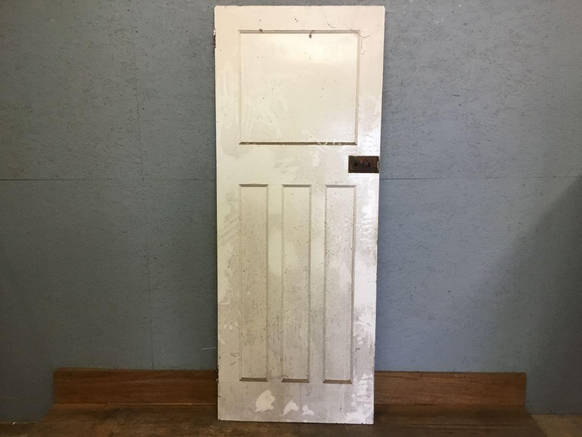 White Painted 1 over 3 Door