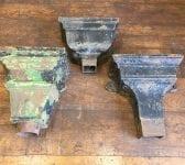 Large Rectangular Cast Iron Hoppers