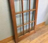 Reclaimed Oak Fully Glazed Door