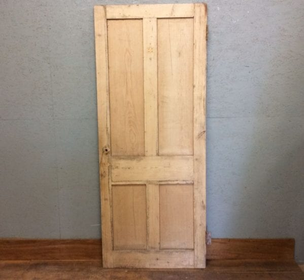 Nice Old Stripped 4 Panel Door