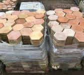 "8 1/2"" French Terracotta Floor Tiles"