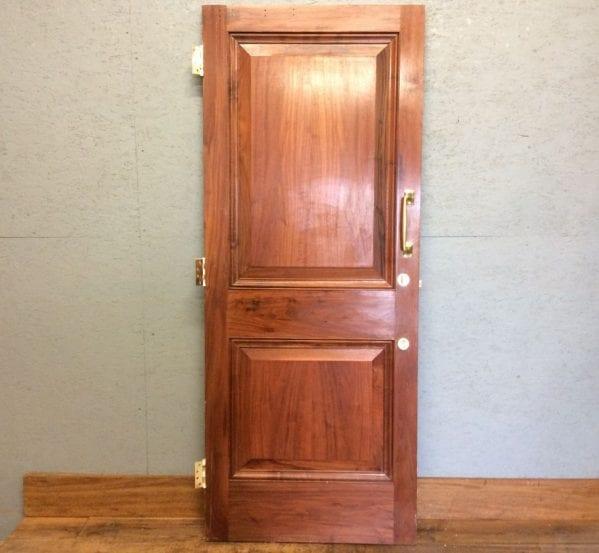 Proper Oak 2 Panelled Door