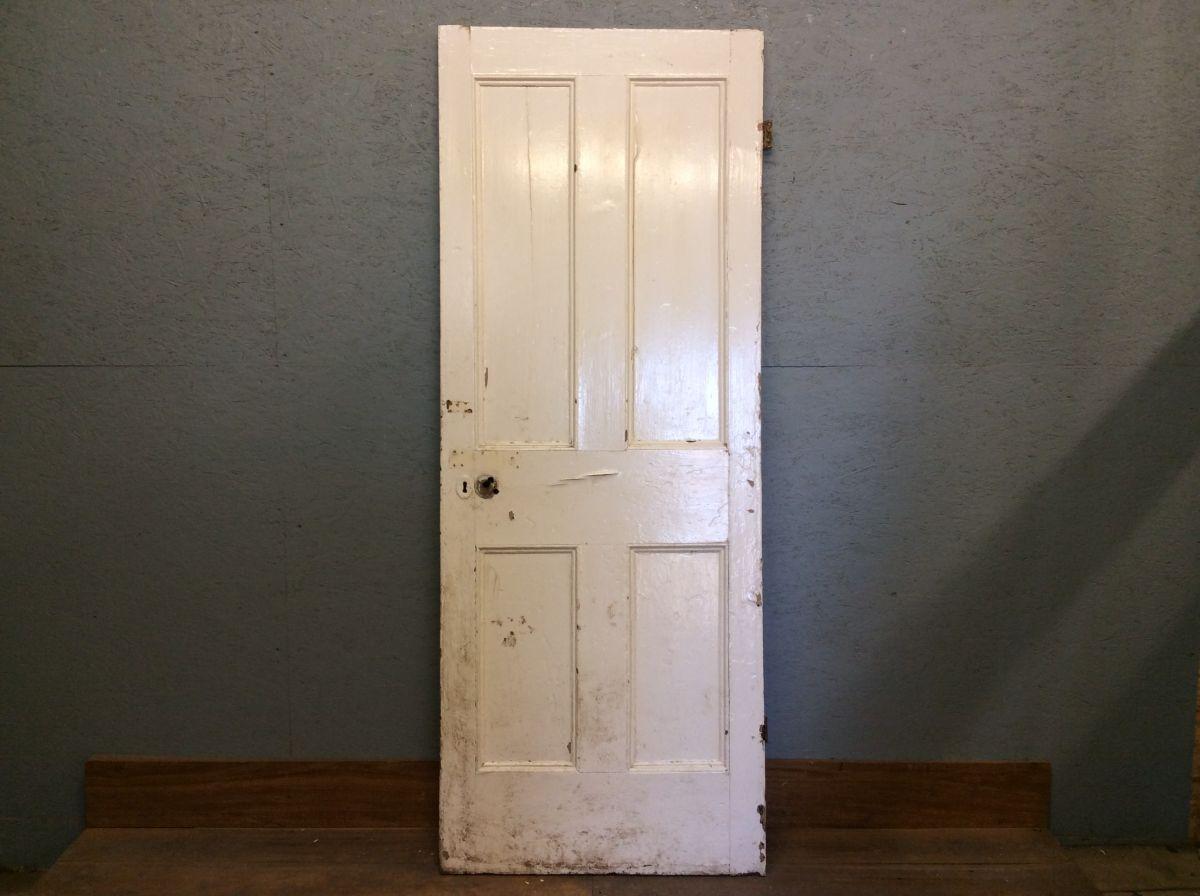 Vintage White 4 Panelled Door