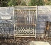 White Decorative Panel Single Gate