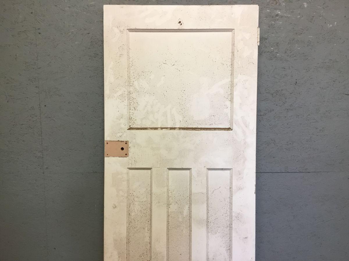 White 1 Over 3 Panel Door