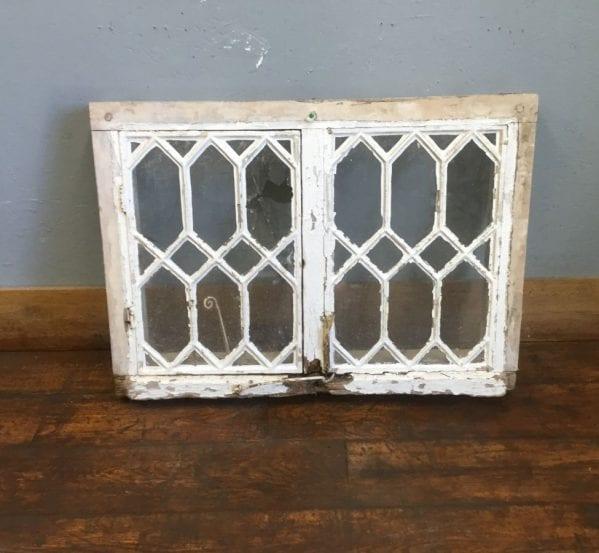 Oak Framed Diamond Window