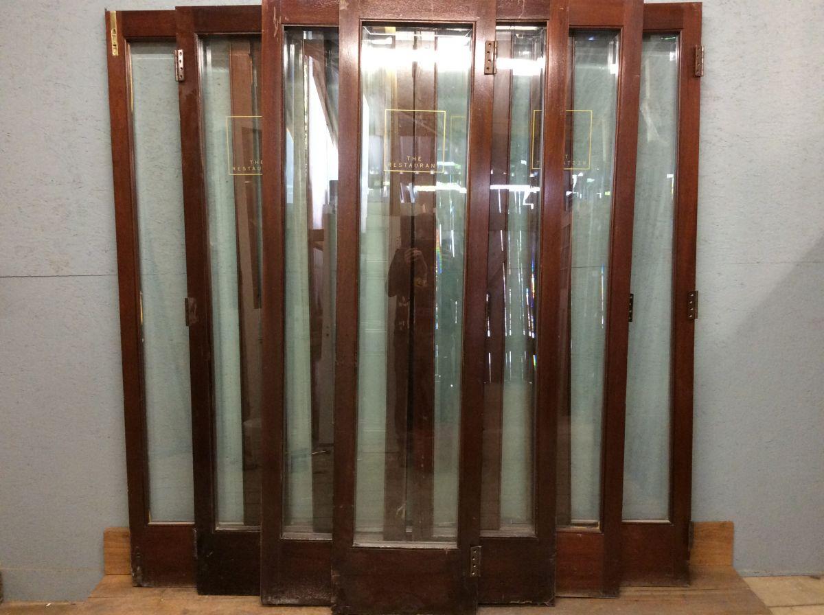 10x Oak/Mahogany REDUCED Mix of Bi-folding Doors