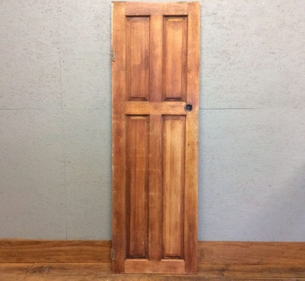Stripped Short & Narrow 4 panelled Door