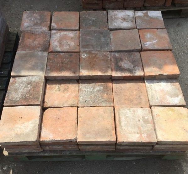 """9"""" Square Terracotta French Floor Tiles"""