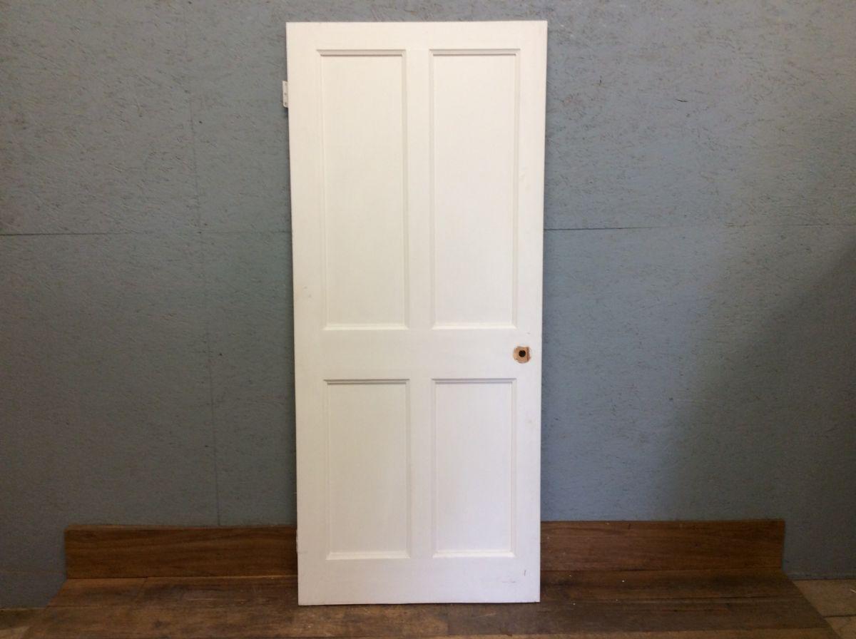 Light White 4 panelled Door