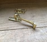 Brass Beaded Window Latch Sets