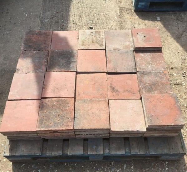 "8 3/4"" Square English Floor Tiles"