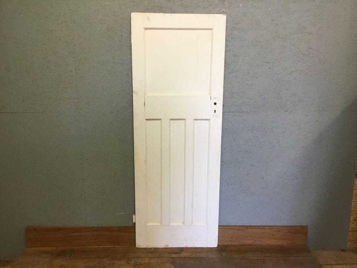 Reclaimed White Painted 1 Over 3 Door