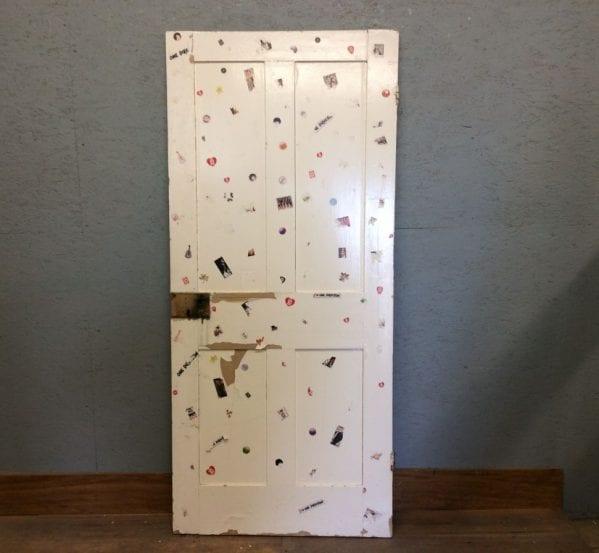 1D Door White 4 Panel