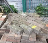 Reclaimed Thick Dark Paving Bricks