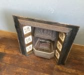 Fully Tiled Cast Iron Fire Insert