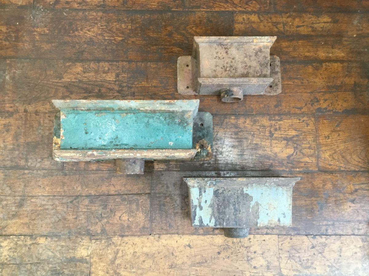 Various Rectangular Cast Iron Rain Hoppers