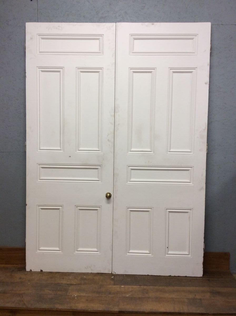 6 Panelled Grand White Doors