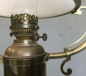 Sherwood Ship Oil Or Electric Lamp