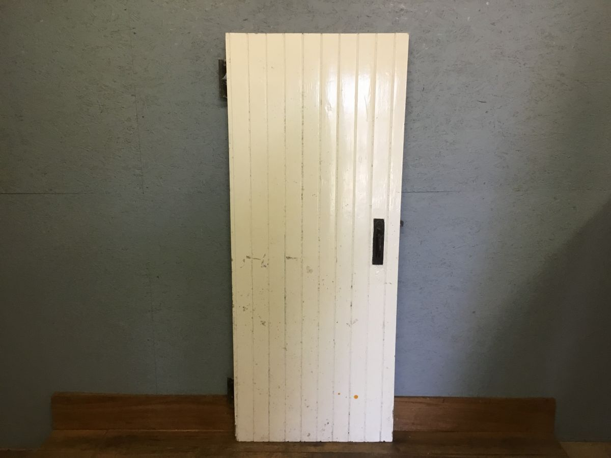 Reclaimed Ledge & Brace Style Painted Door