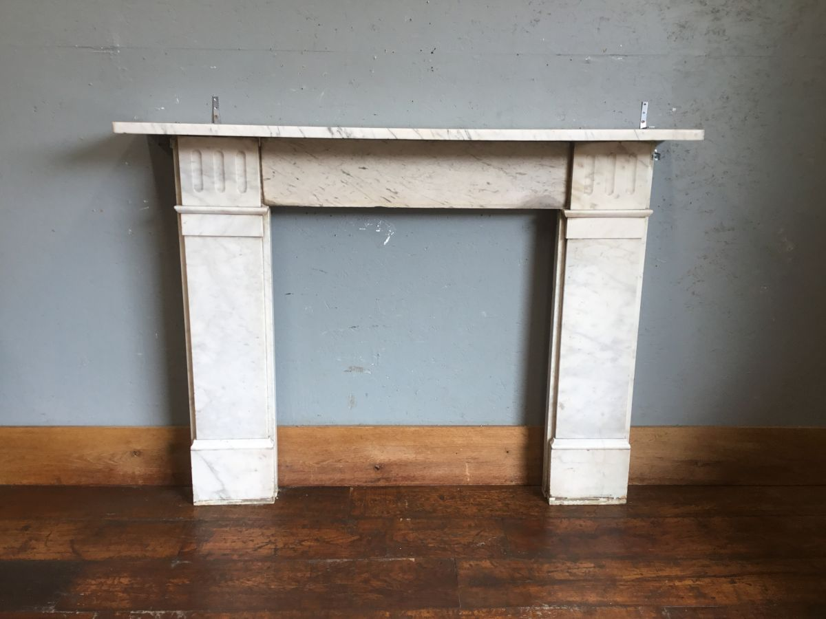 Pale Marble Fire Surround