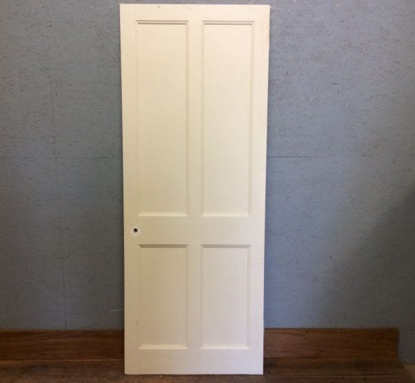 Bright White 4 Panel Door